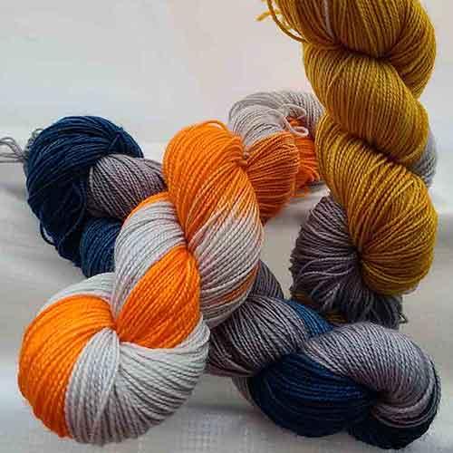* Hand-Dyed Yarn